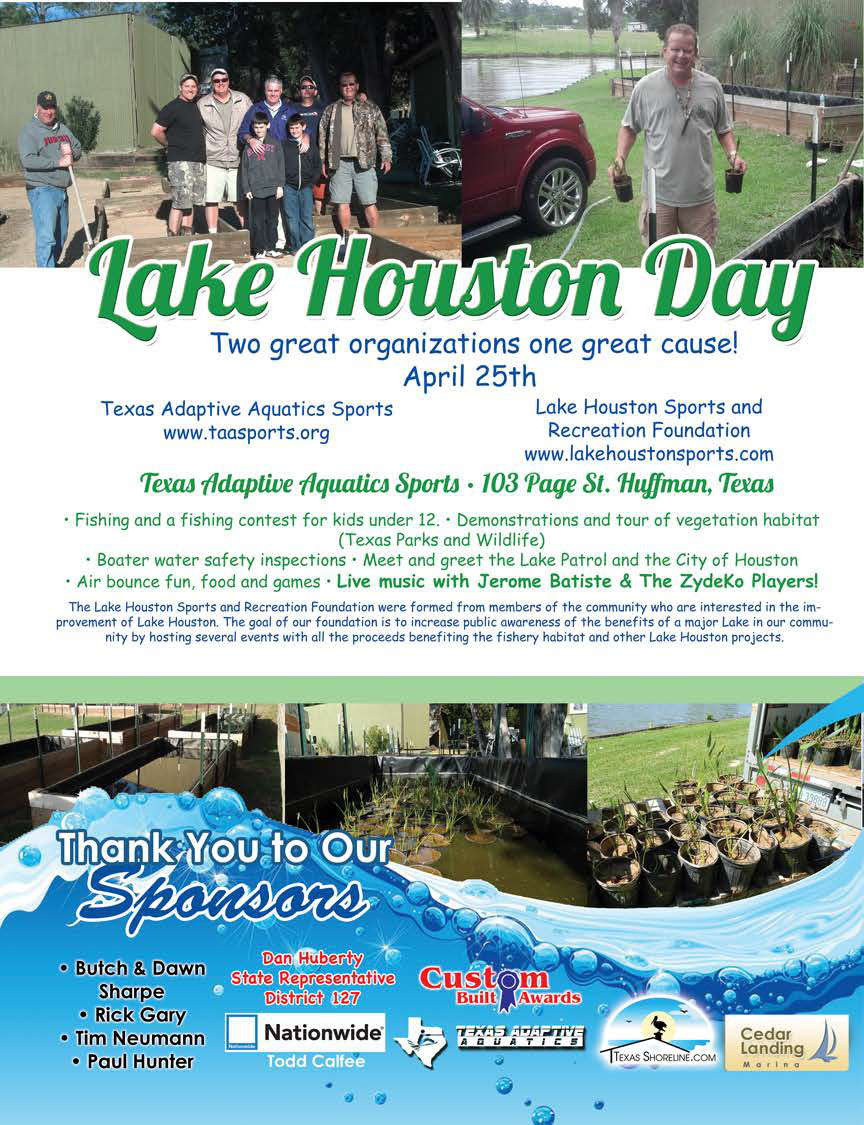 Lake Houston Day 2015