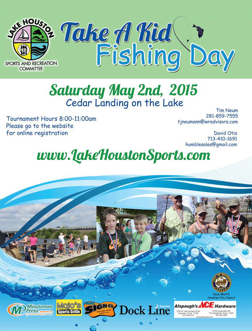 Lake houston: Take a Kid Fishing Day (2015)