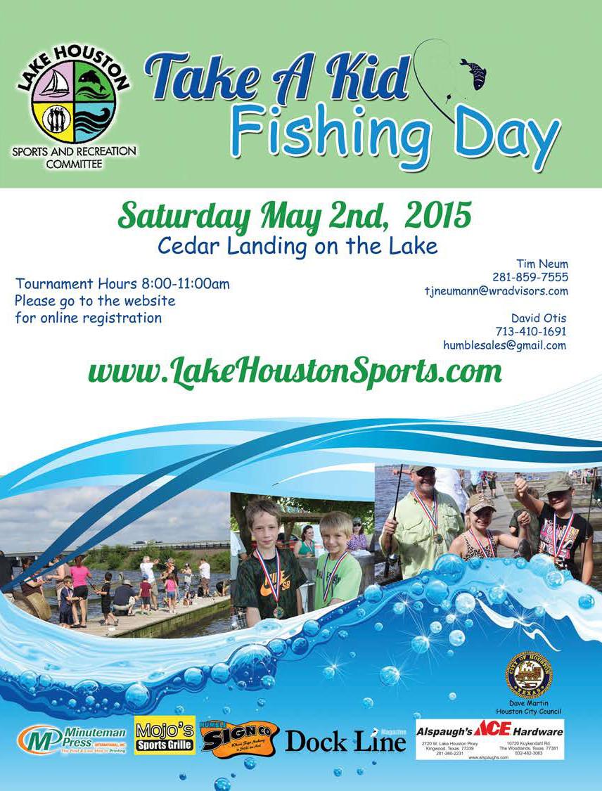 Lake houston: Take a Kid Fishing Day (2015)