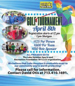 Lake Houston Sports Foundation - Golf Tournament 2016