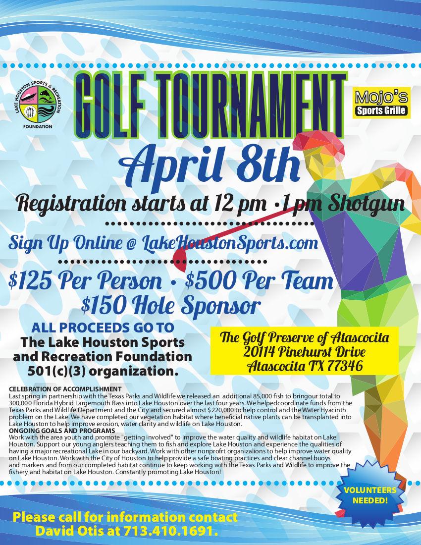 Golf Tournament 2016 - Lake Houston Sports Foundation