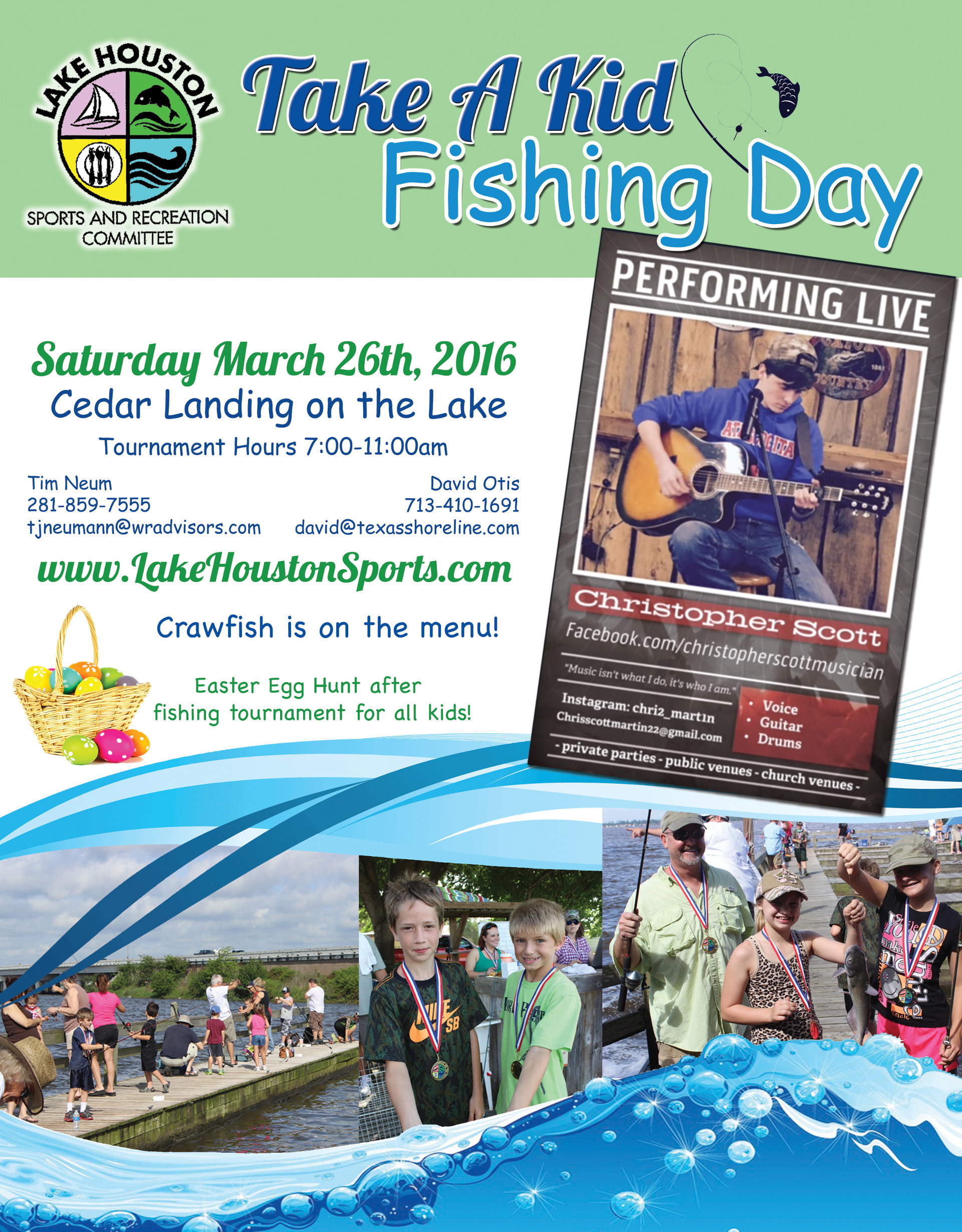 Lake Houston's Take A Kid Fishing - March 2016