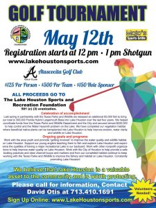 Lake Houston Golf Tournament - Spring 2017
